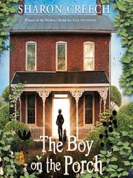 boy on porch