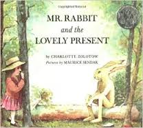 mr rabbit and lovely present
