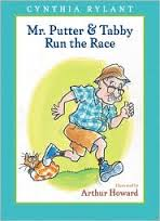 MR PUTTER and tabby run the race