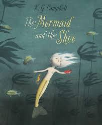 mermaid and shoe