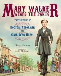 mary walker wears the pants