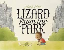 lizard from park