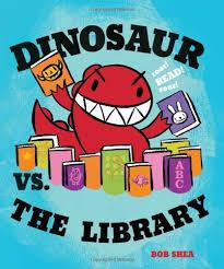 dinosaur vs library