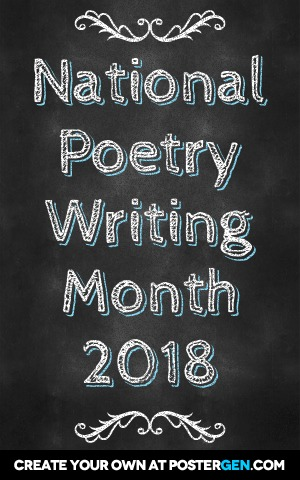 national poetry writing month 2018