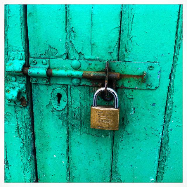 padlocked door by sean o domhnaill.jpg