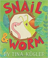 snail and worm