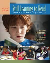 still learning to read