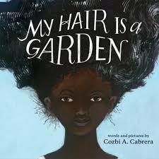 my hair is a garden
