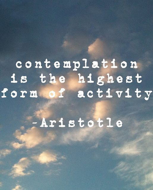 contemplation quote